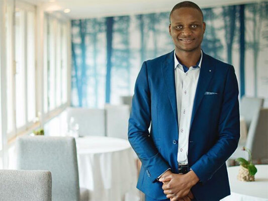 Joseph Dhafana, sommelier of La Colombe (Image: Supplied)