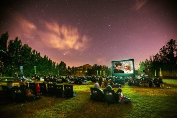 The Galileo Open Air Cinema (Image: Supplied)